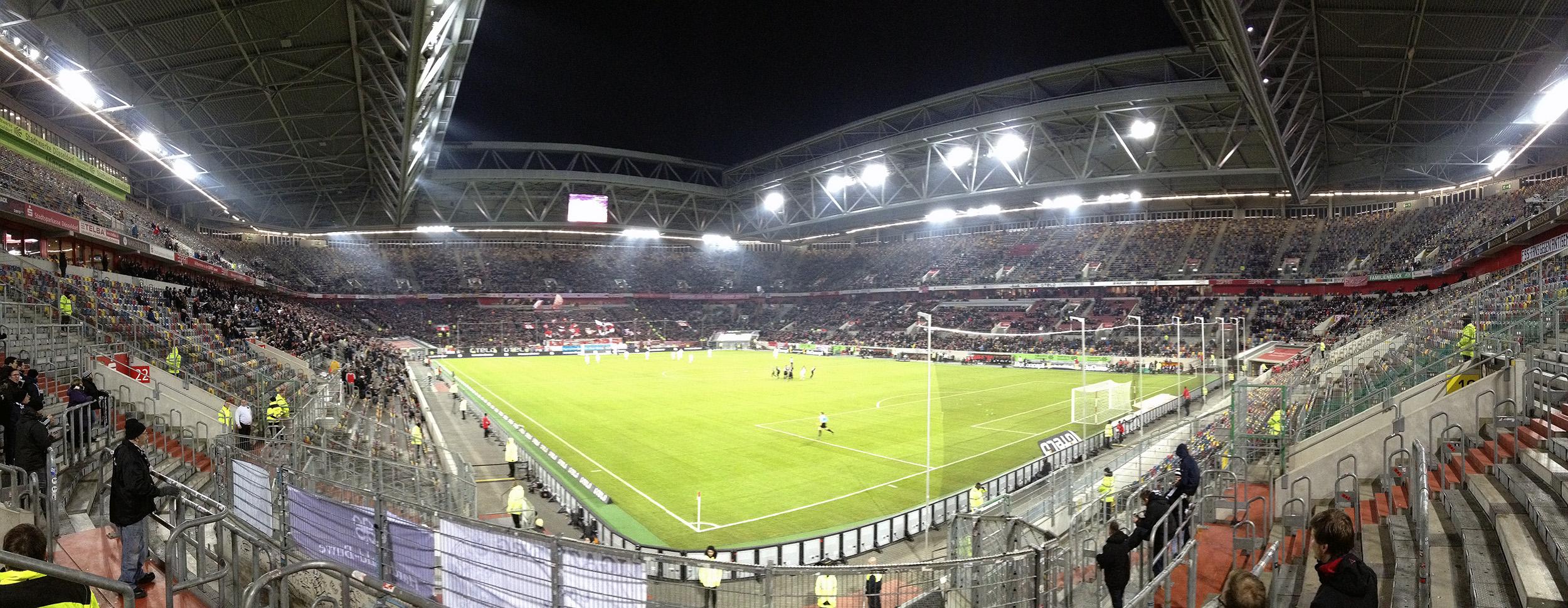 Esprit Arena Fortuna Düsseldorf Fortuna Brötchen